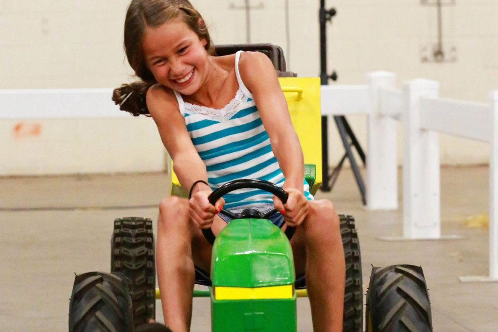 Kids Pedal Tractor Pulls