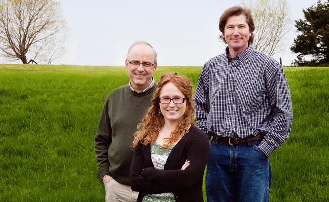 John B Webster, Courtney Hogan-Chandler and Eddy Quinn