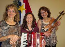 Louise Arsenault, Helene Bergeron and Caroline Bernard