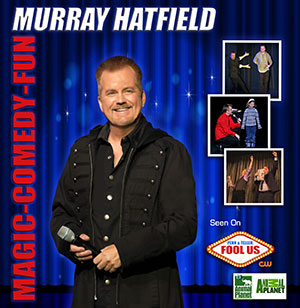 Murray Hatfield, Magician