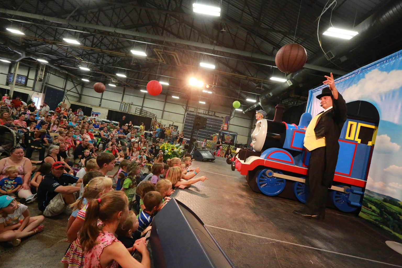 Old Home Week family fun shows