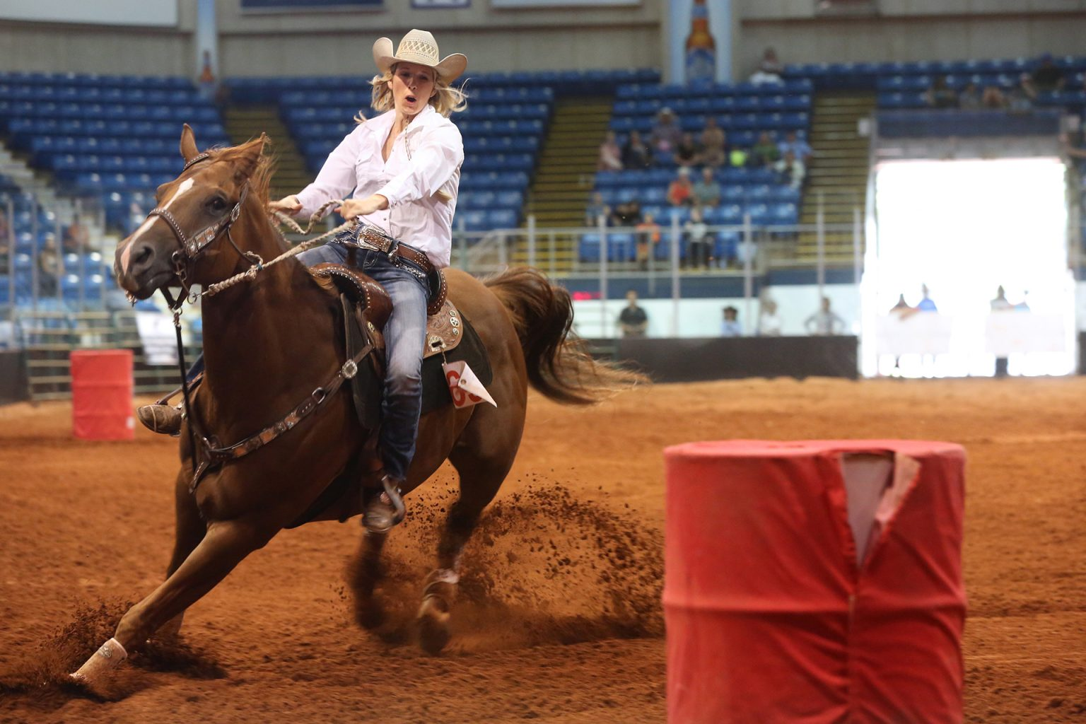 Old Home Week Barrel Racing Competition