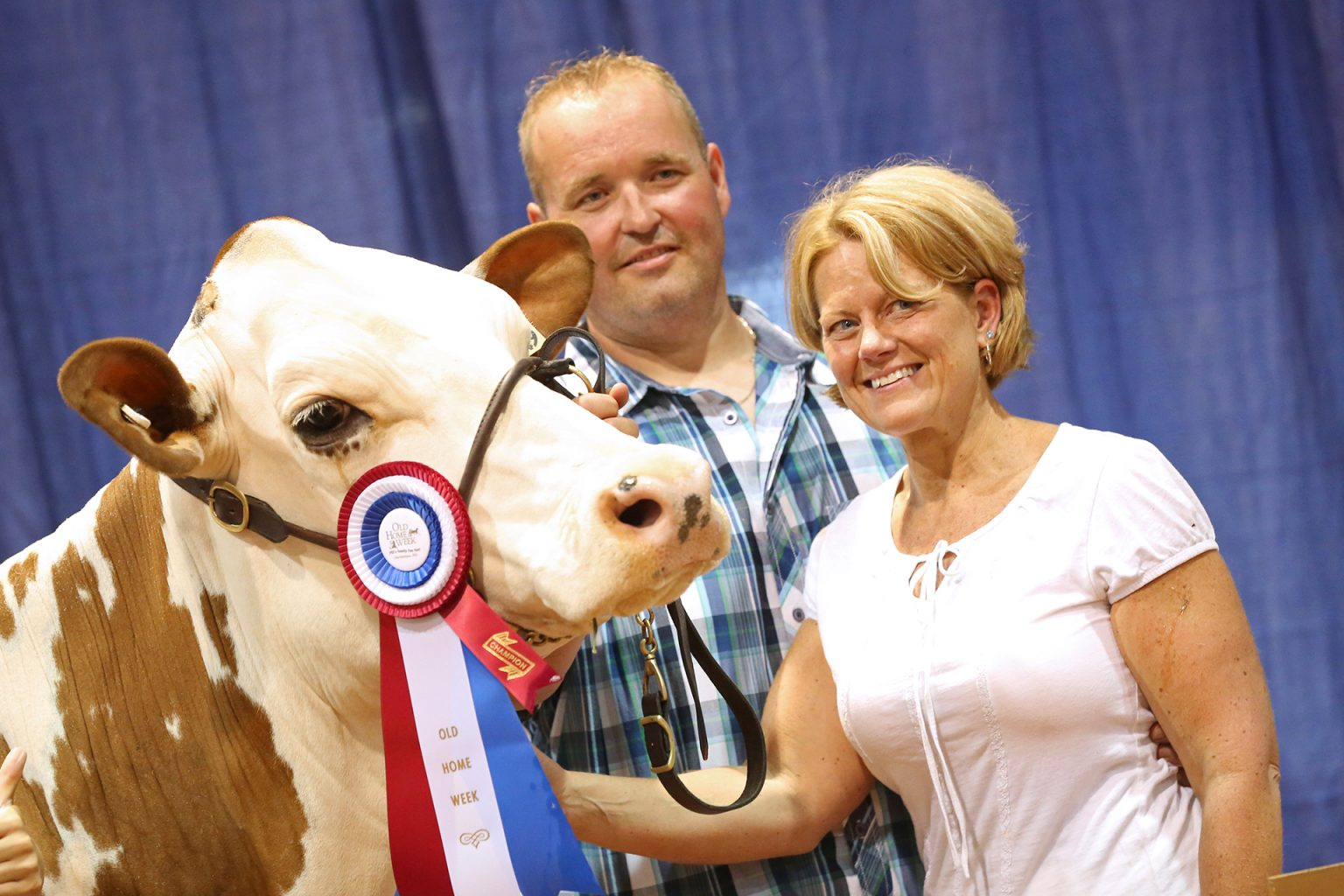 Old Home Week Dairy Competition Winner